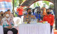 PANGLIMA TNI APRESIASI STRATEGI KAPOLDA DALAM MENDORONG PERCEPATAN VAKSINASI DI MALUKU UTARA